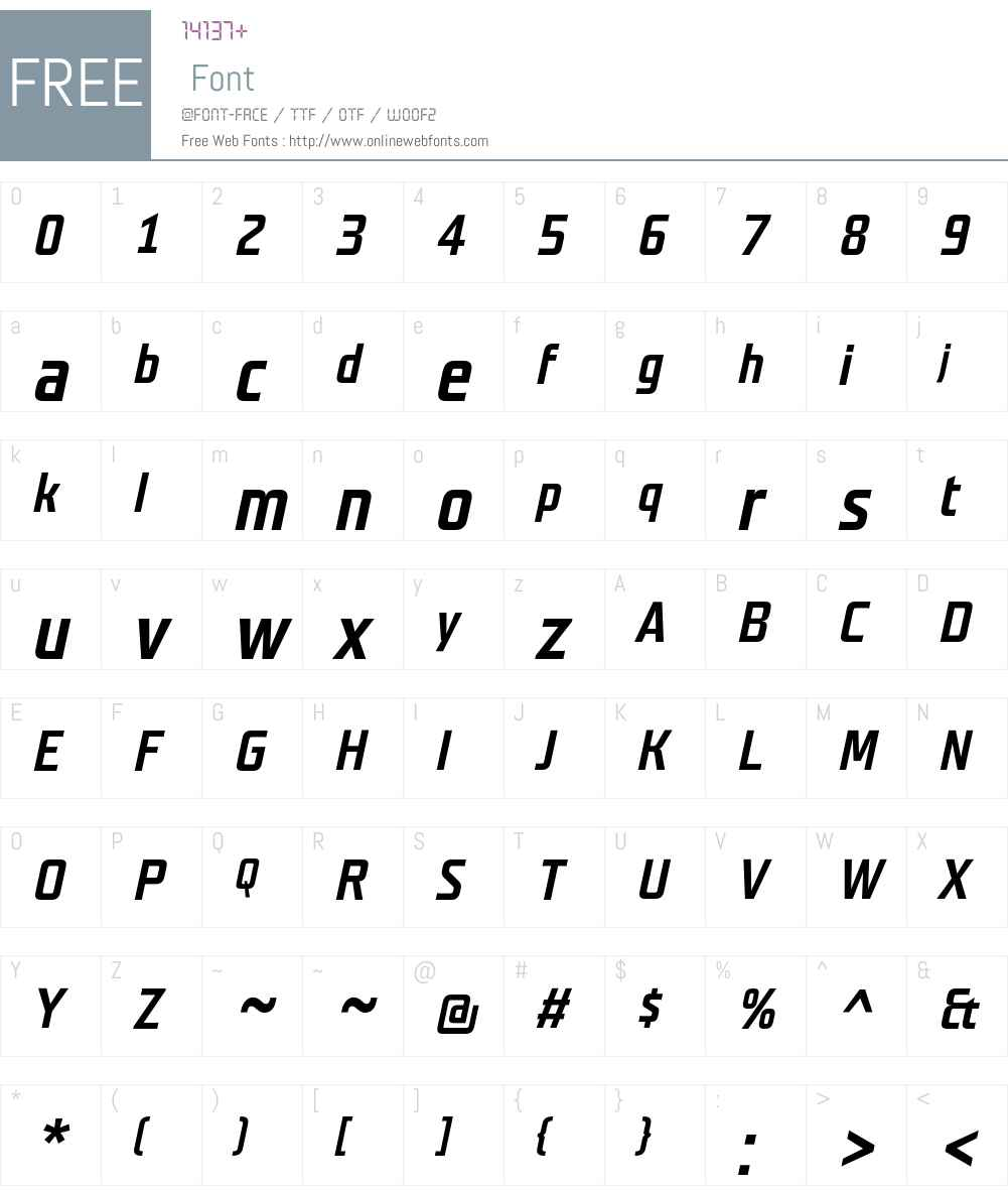 Teuton Fett Font Screenshots