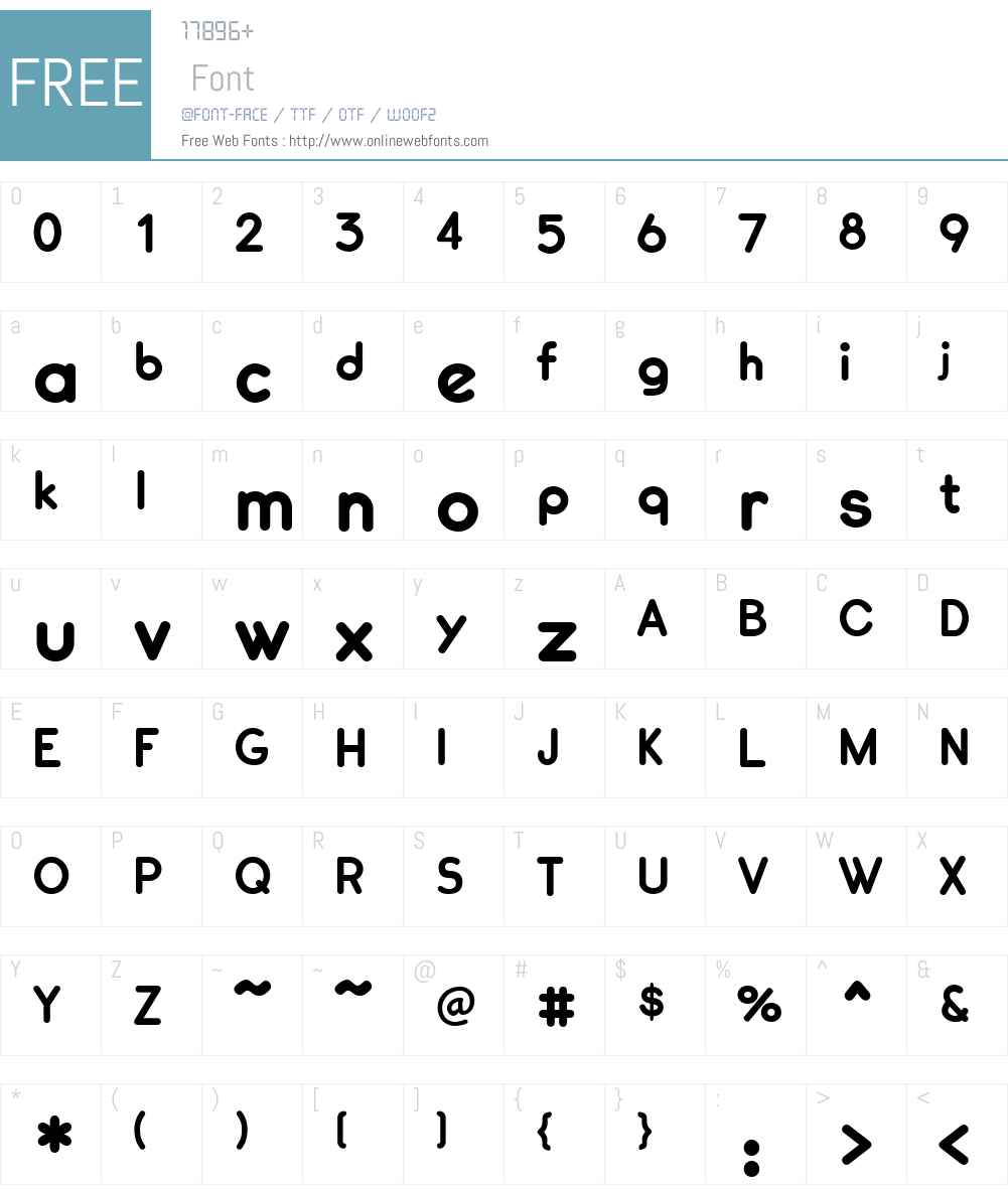 CennerikW00-ExtraBold Font Screenshots