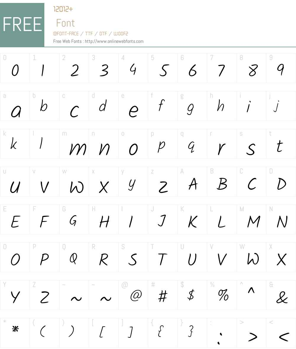 Kalam Light Font Screenshots