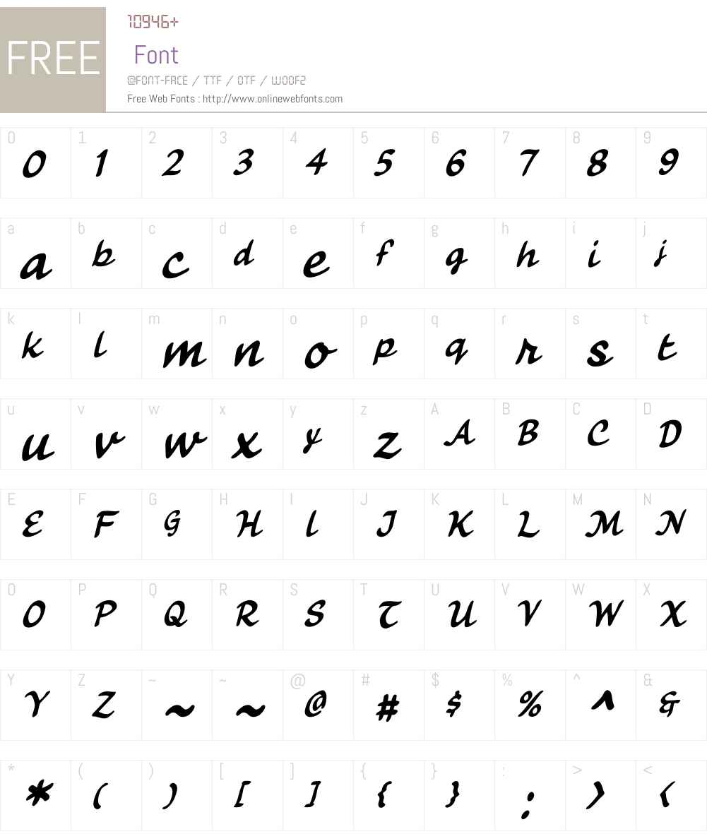CCFancyPantsW00-Regular Font Screenshots