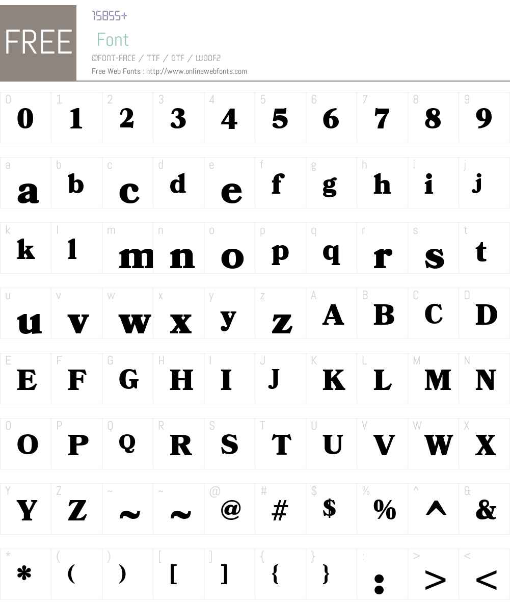 Bookmania Font Screenshots