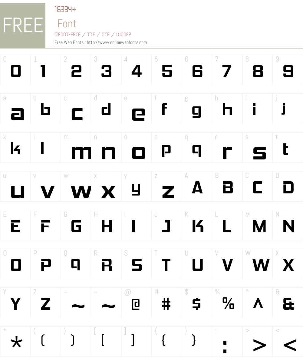 HemiHeadW00-Bold Font Screenshots