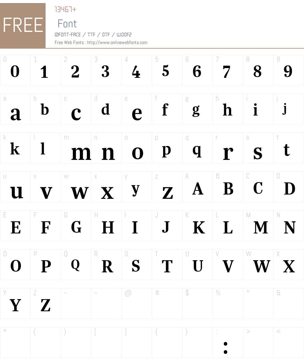 Trola LatCyr Semibold Font Screenshots