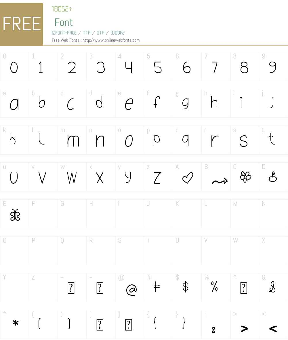 Oh_Hello_Dya Font Screenshots