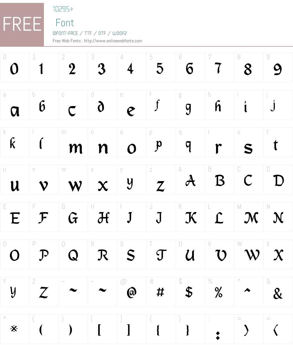 DS_Mysticora Font Screenshots