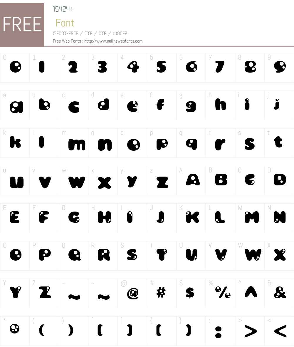 Bambina Font Screenshots