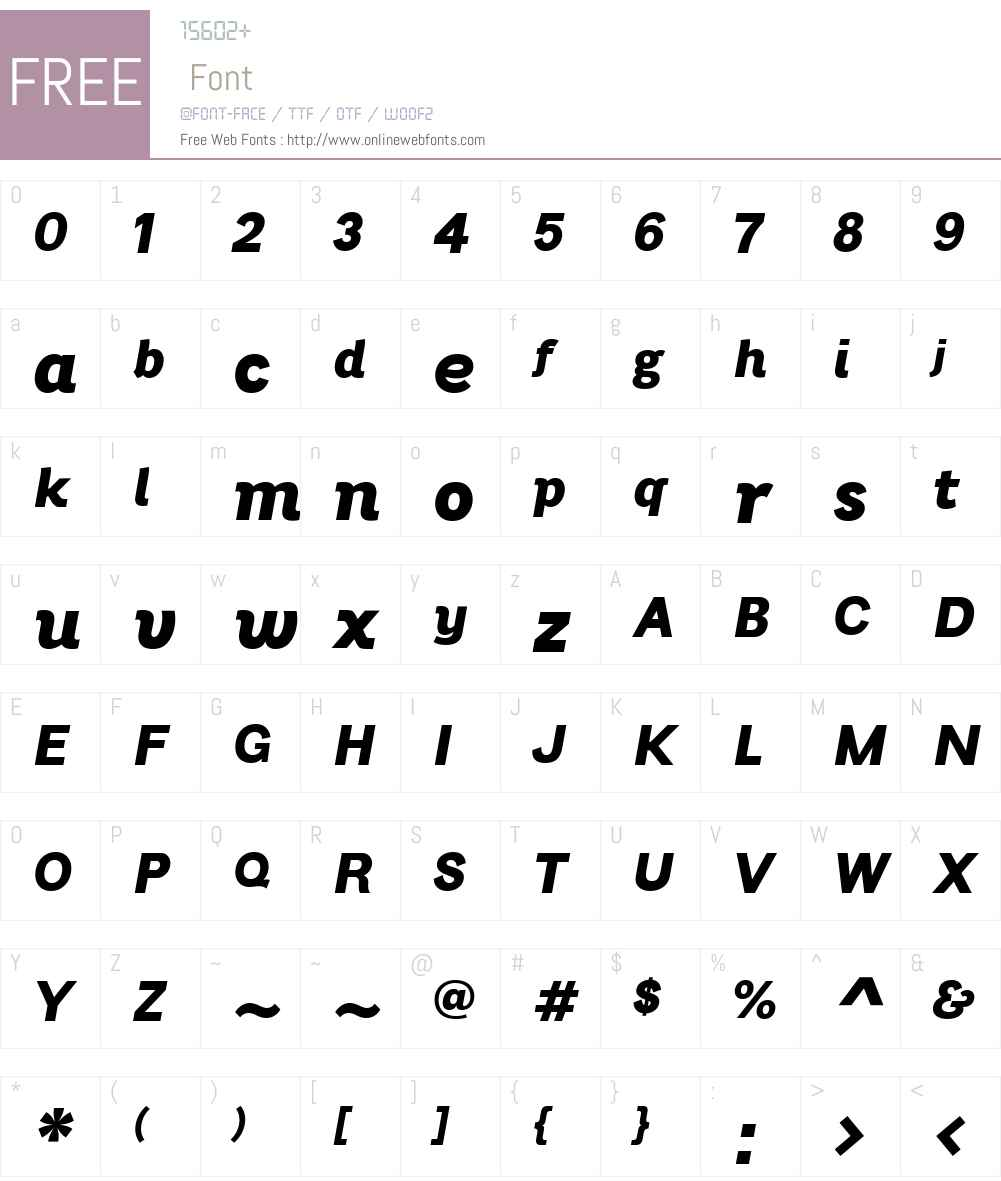 BrightGrotesk-ExtraBoldItalic Font Screenshots