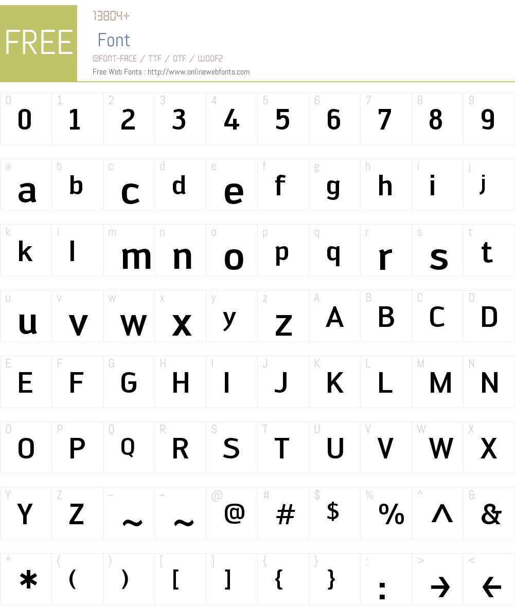Engel Font Screenshots