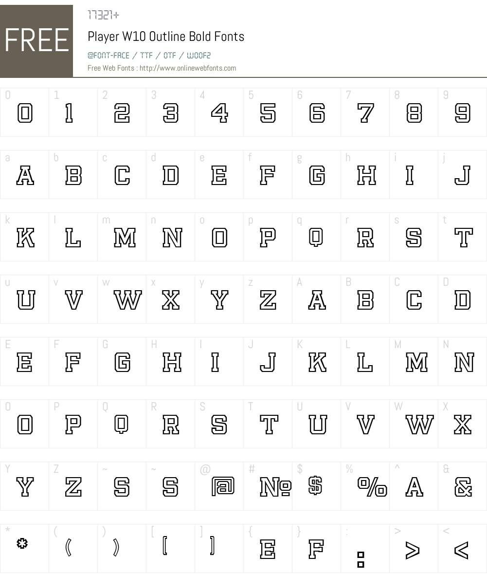 Player Font Screenshots