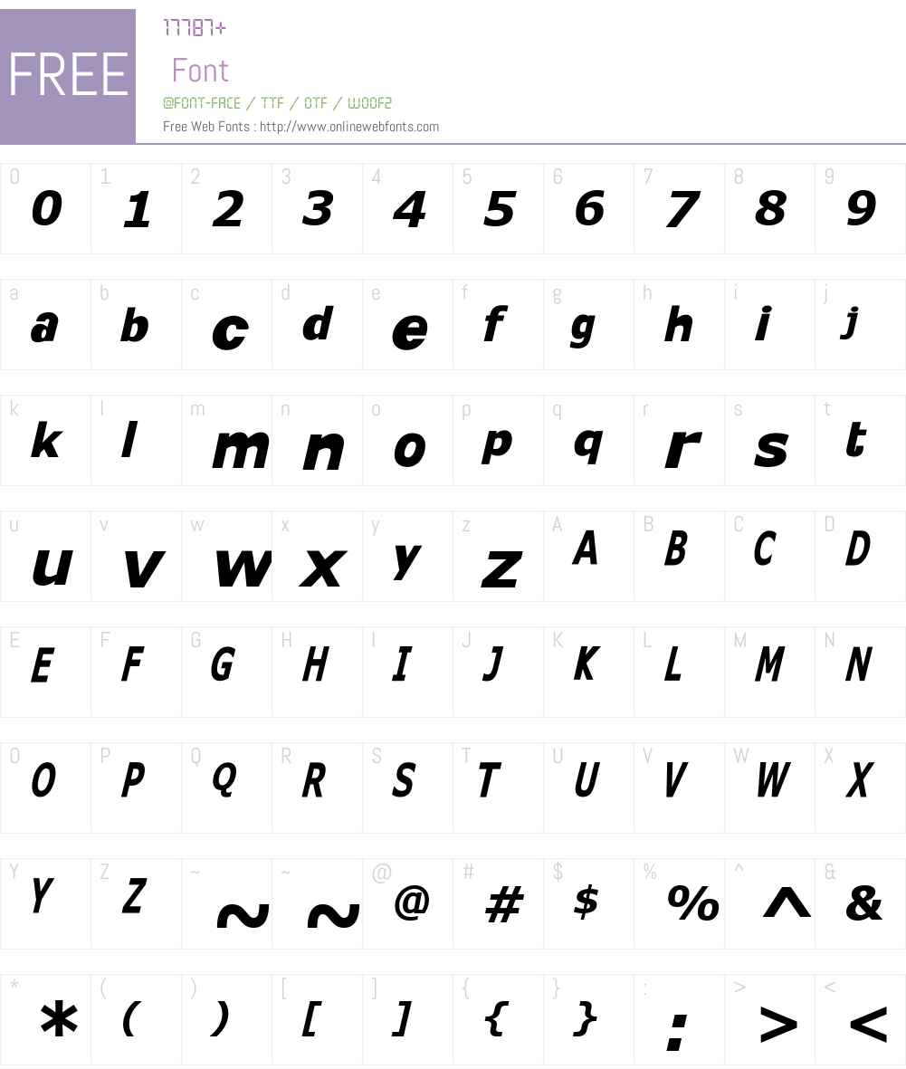 KittKat Font Screenshots
