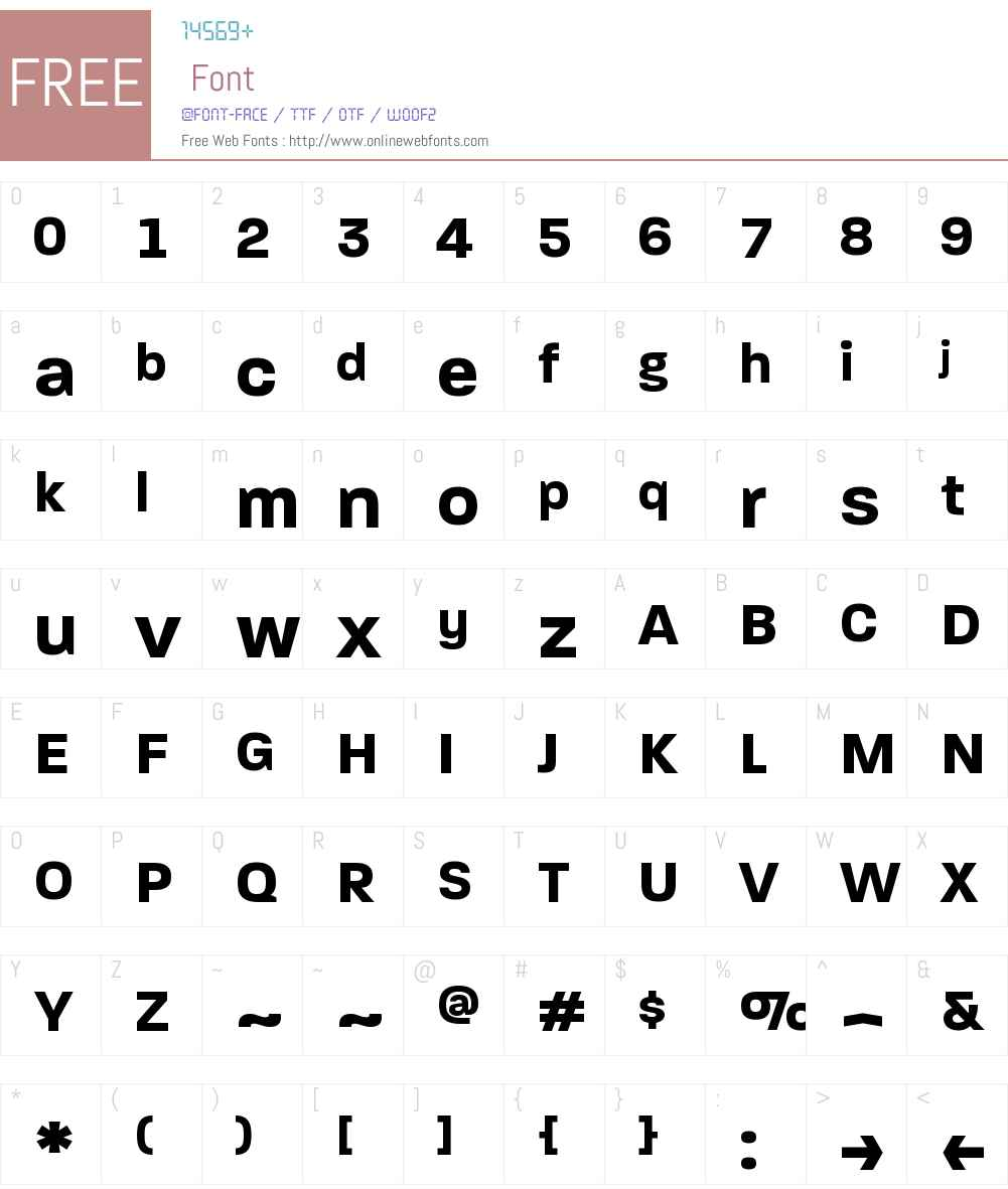Paralucent Text Pro Font Screenshots