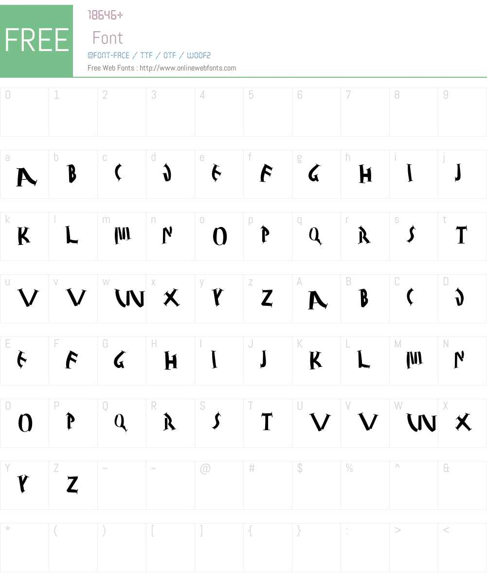 JuliusCaesarBlack Font Screenshots
