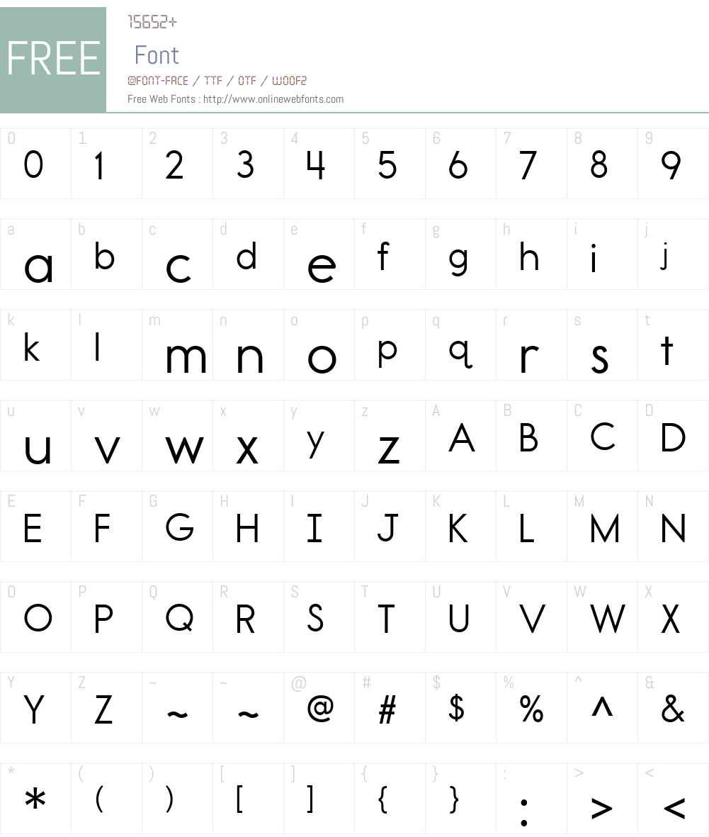 ReportSchoolW00-Regular Font Screenshots