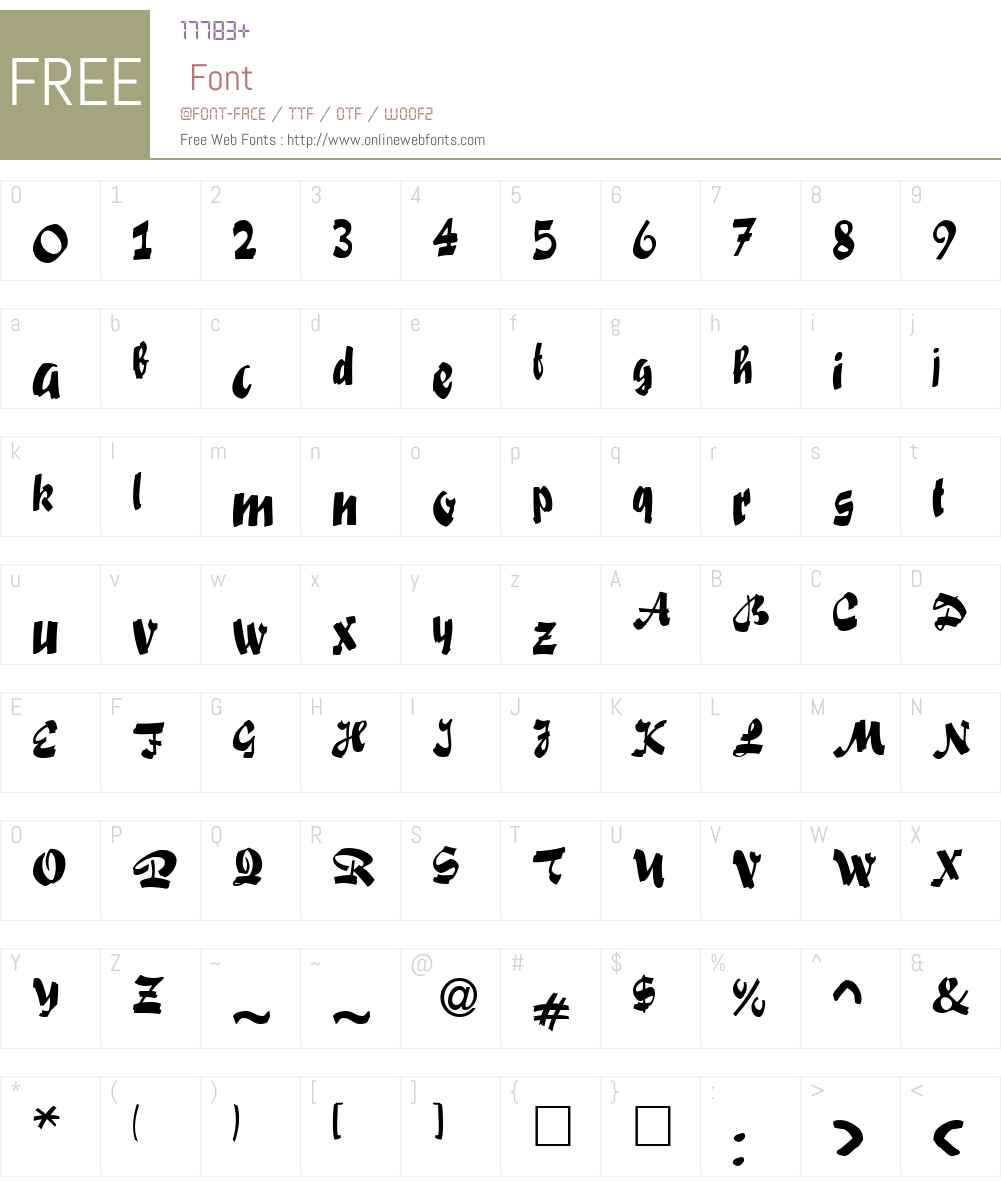Swashett Font Screenshots