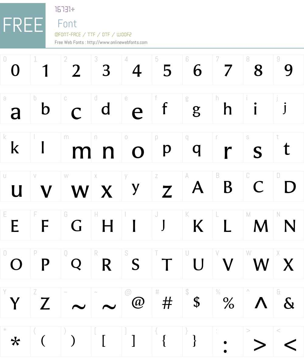 Alinea Incise Font Screenshots