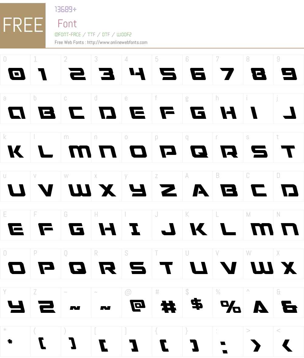 Starduster Leftalic Font Screenshots