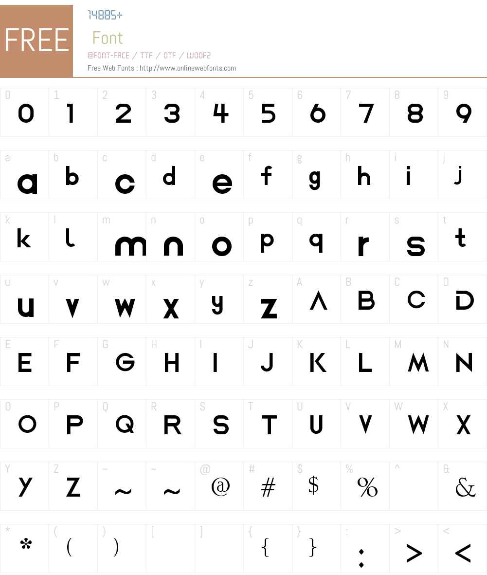 AiDeep Font Screenshots