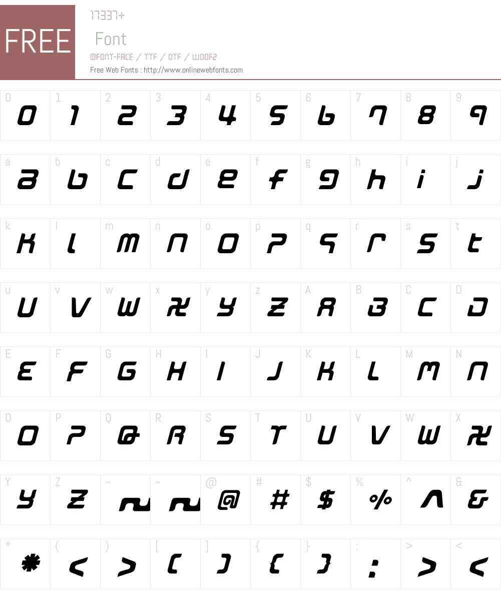 MarkingMarker Font Screenshots