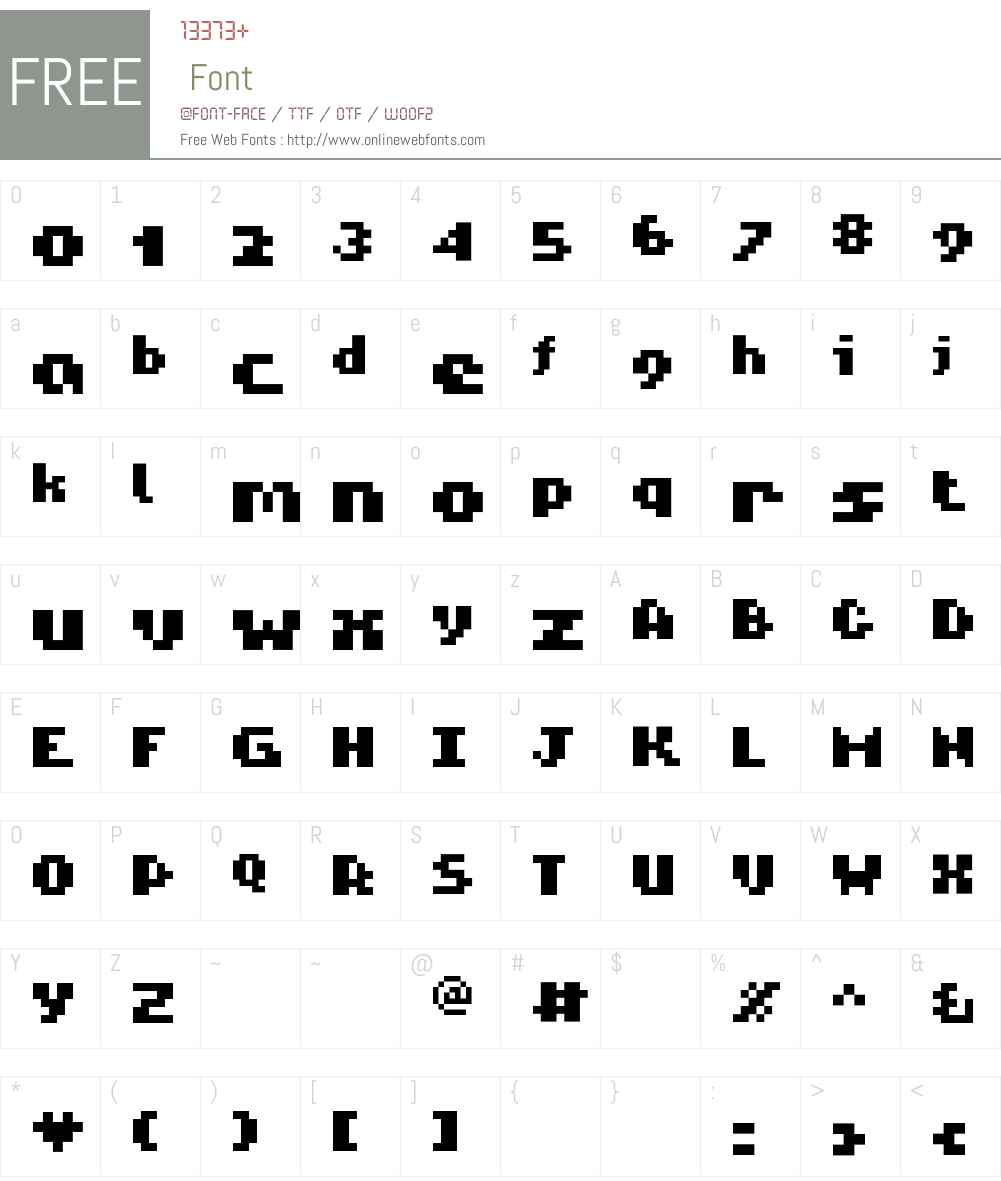ROTORanti Font Screenshots