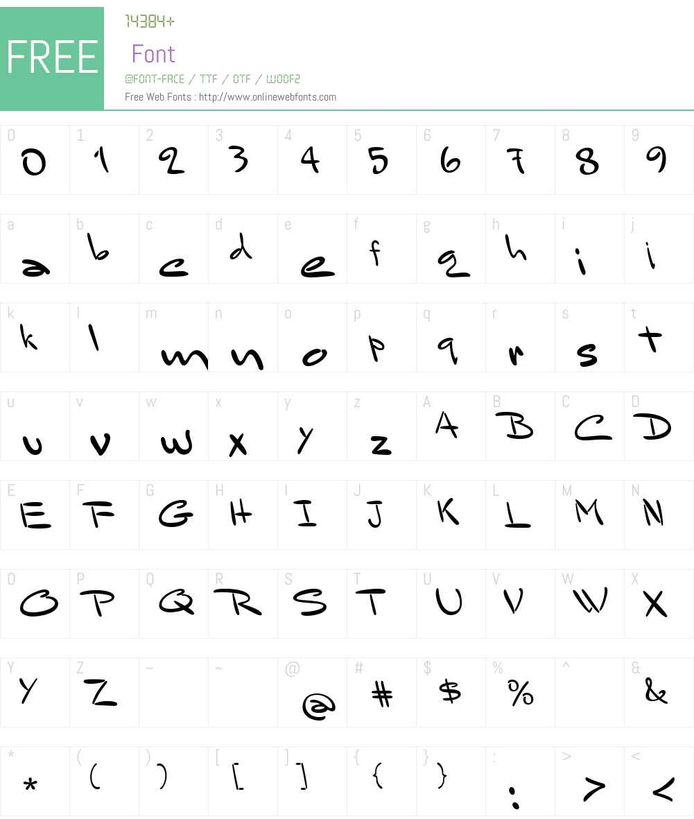 Mr Sandsfort Font Screenshots