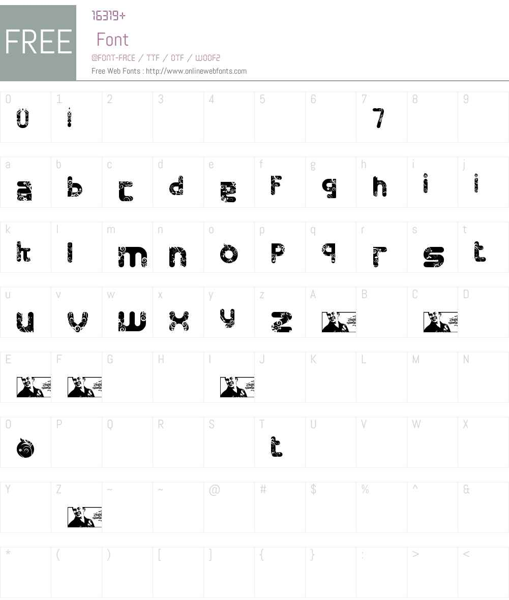 FTF Minthee Limo Free Font Screenshots