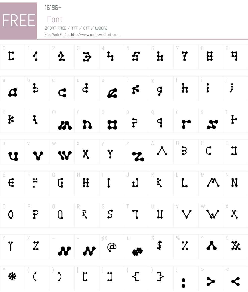 Gradualism Font Screenshots
