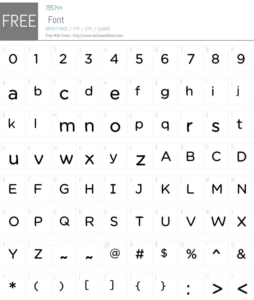 Chams Font Screenshots