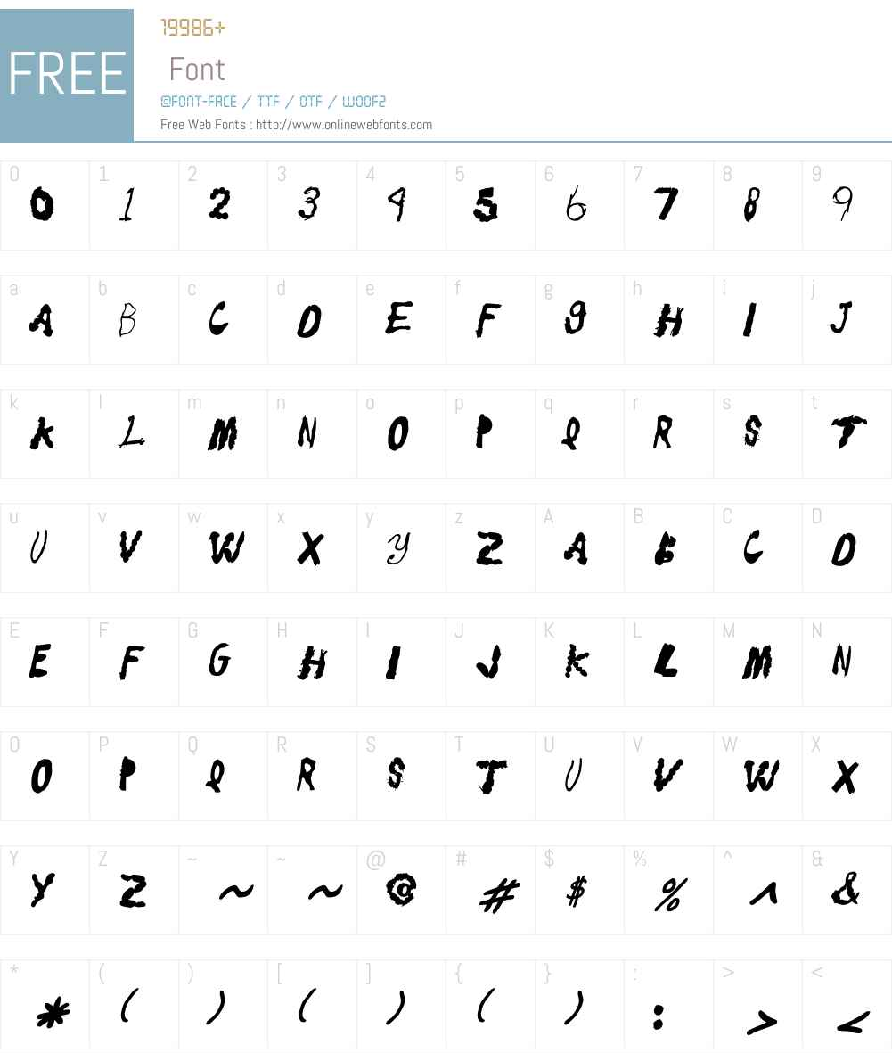 Eatstreet Font Screenshots
