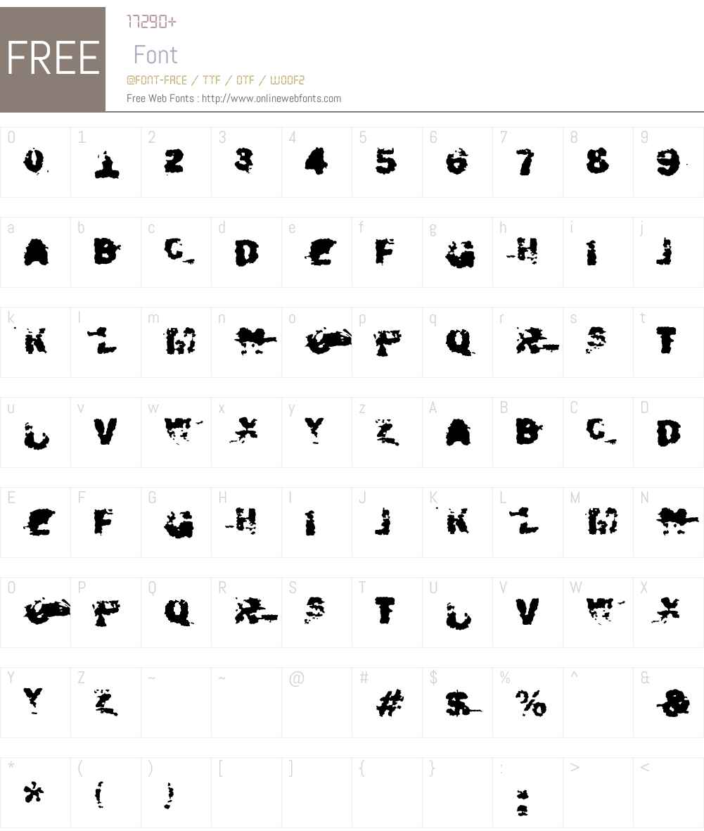 fz-wencang-101 Font Screenshots