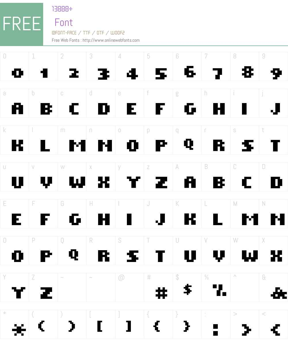 Dwarf Font Screenshots