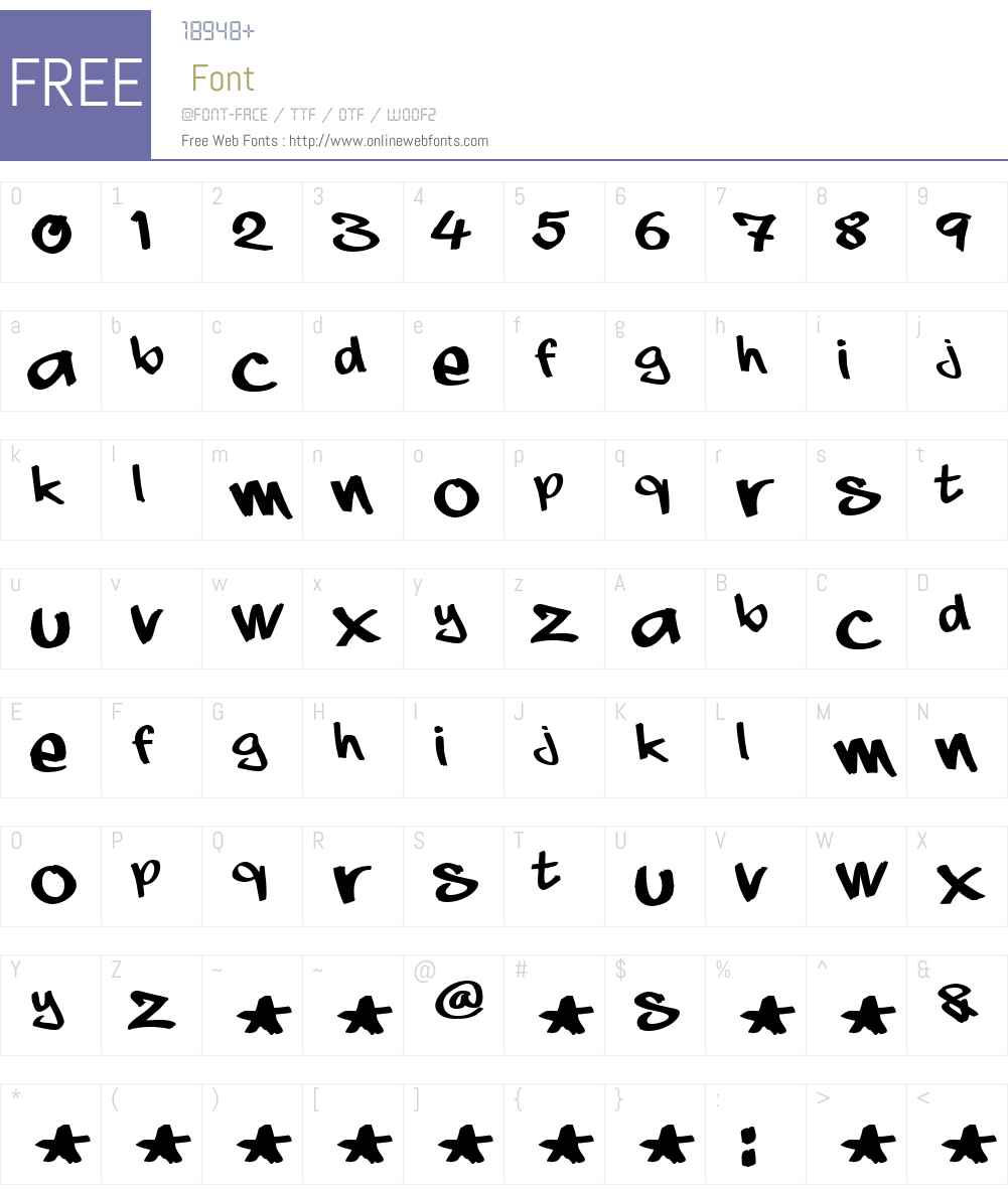 aaaiight! Font Screenshots