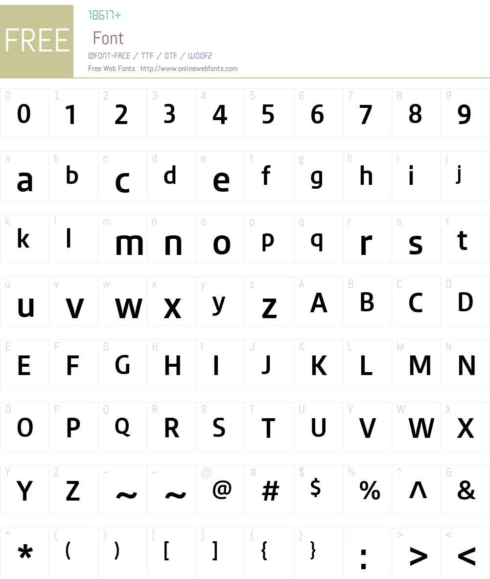 Engrez Font Screenshots
