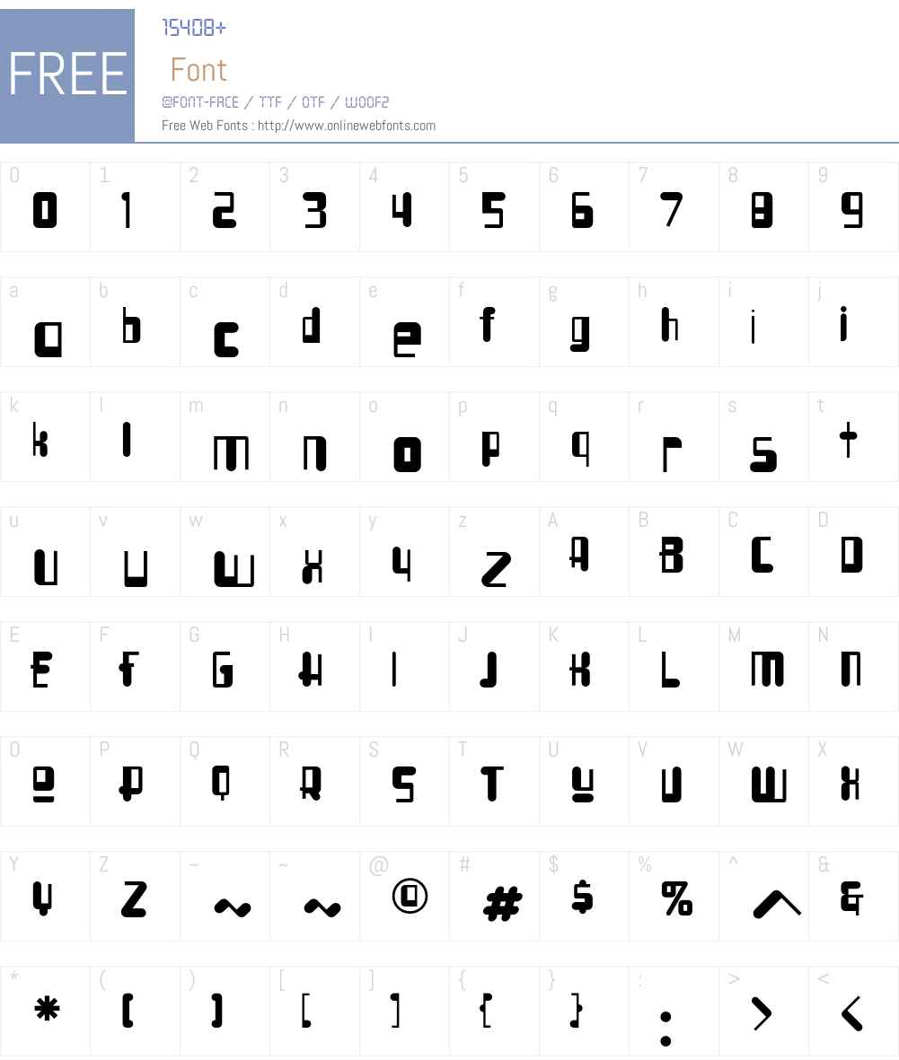 SyllogonICG Font Screenshots