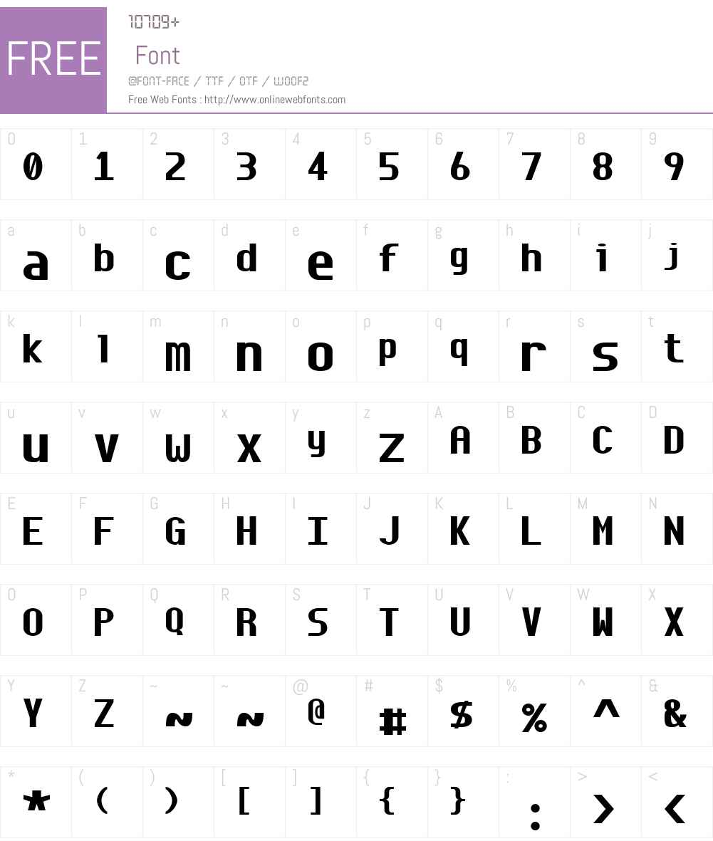 Envy Code R Font Screenshots