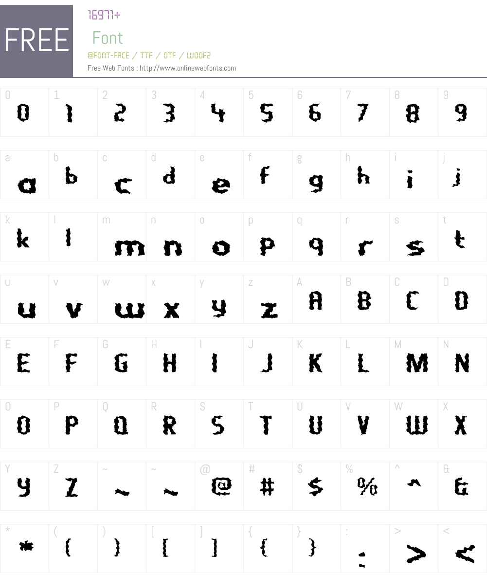 NightporterW00-Regular Font Screenshots