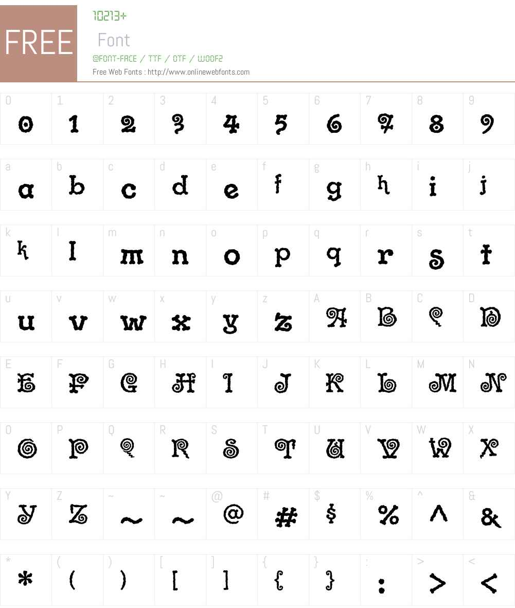 Gramophone ITC Std Font Screenshots