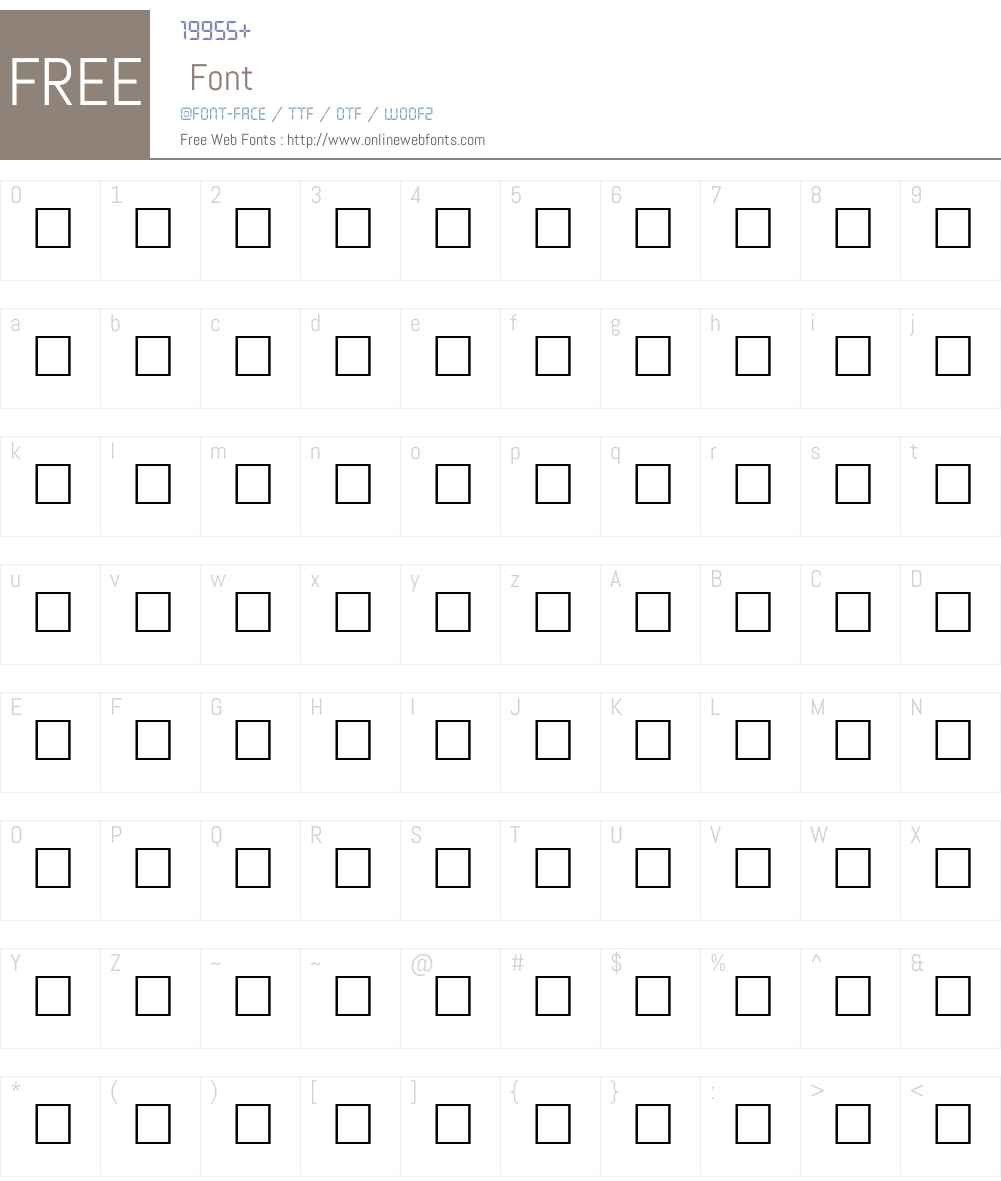 ANIMALSILENCE Font Screenshots