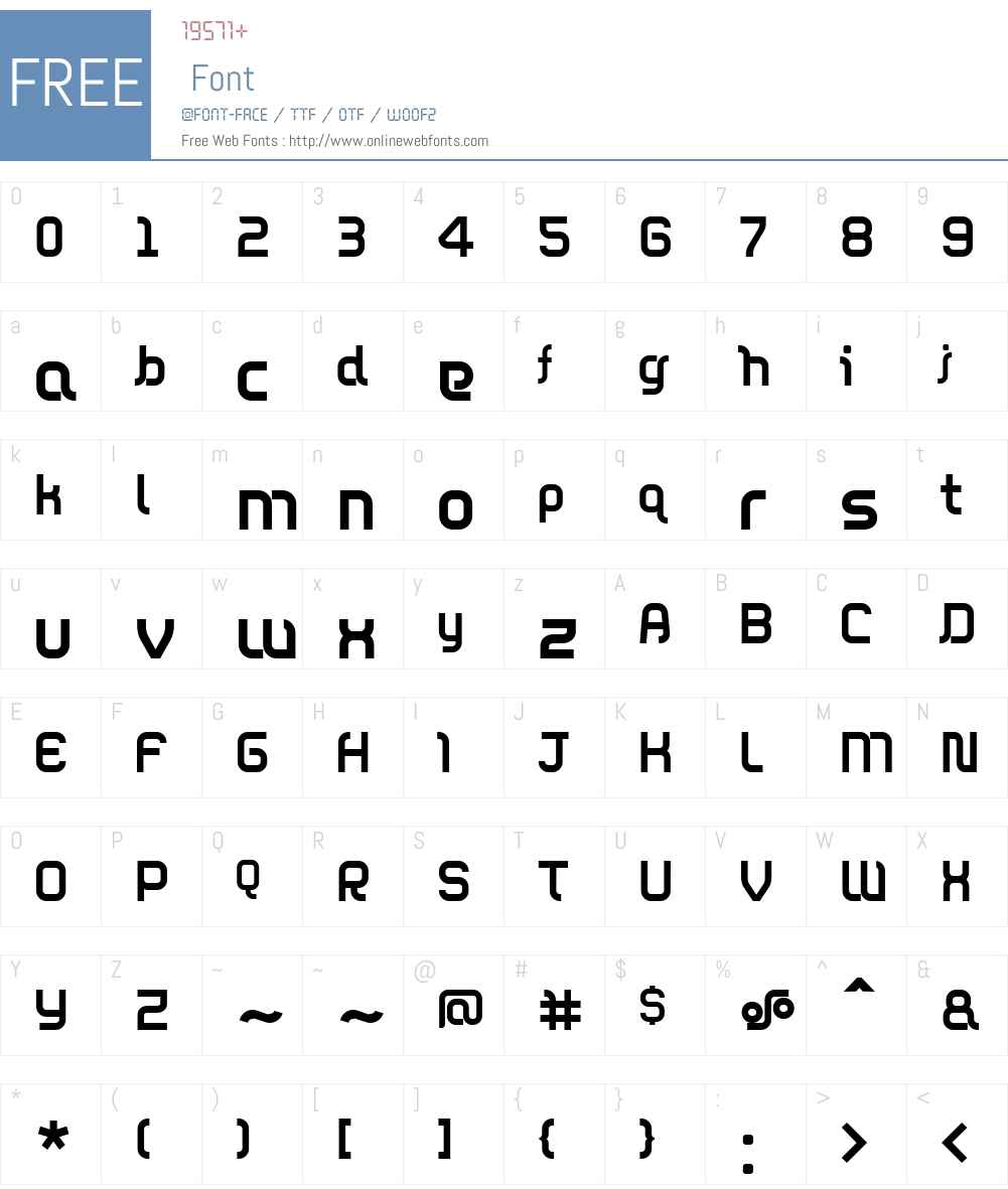 DieppeRegular Font Screenshots