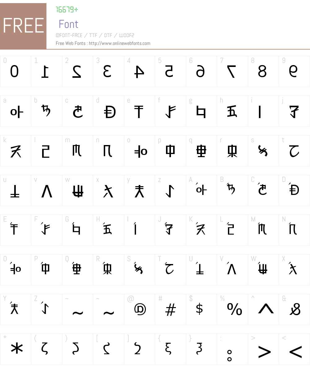 Rex Revol Font Screenshots