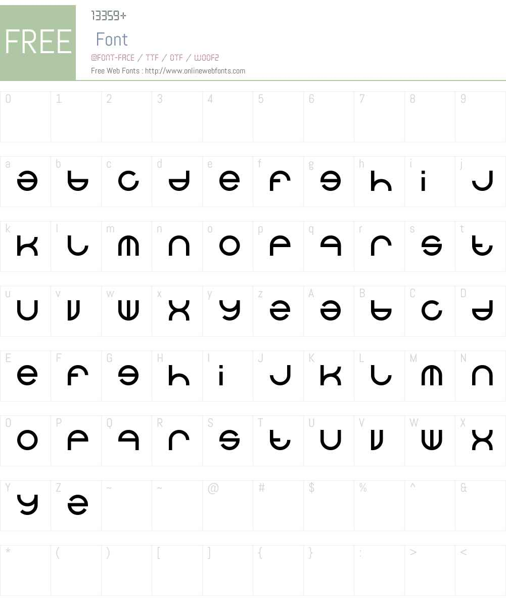 alexey Font Screenshots
