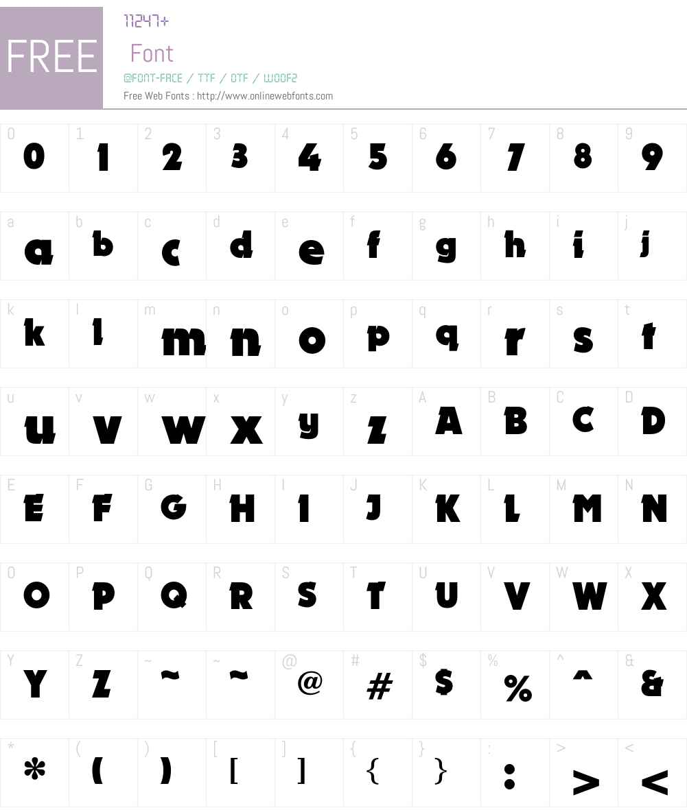 Lokomotive Font Screenshots