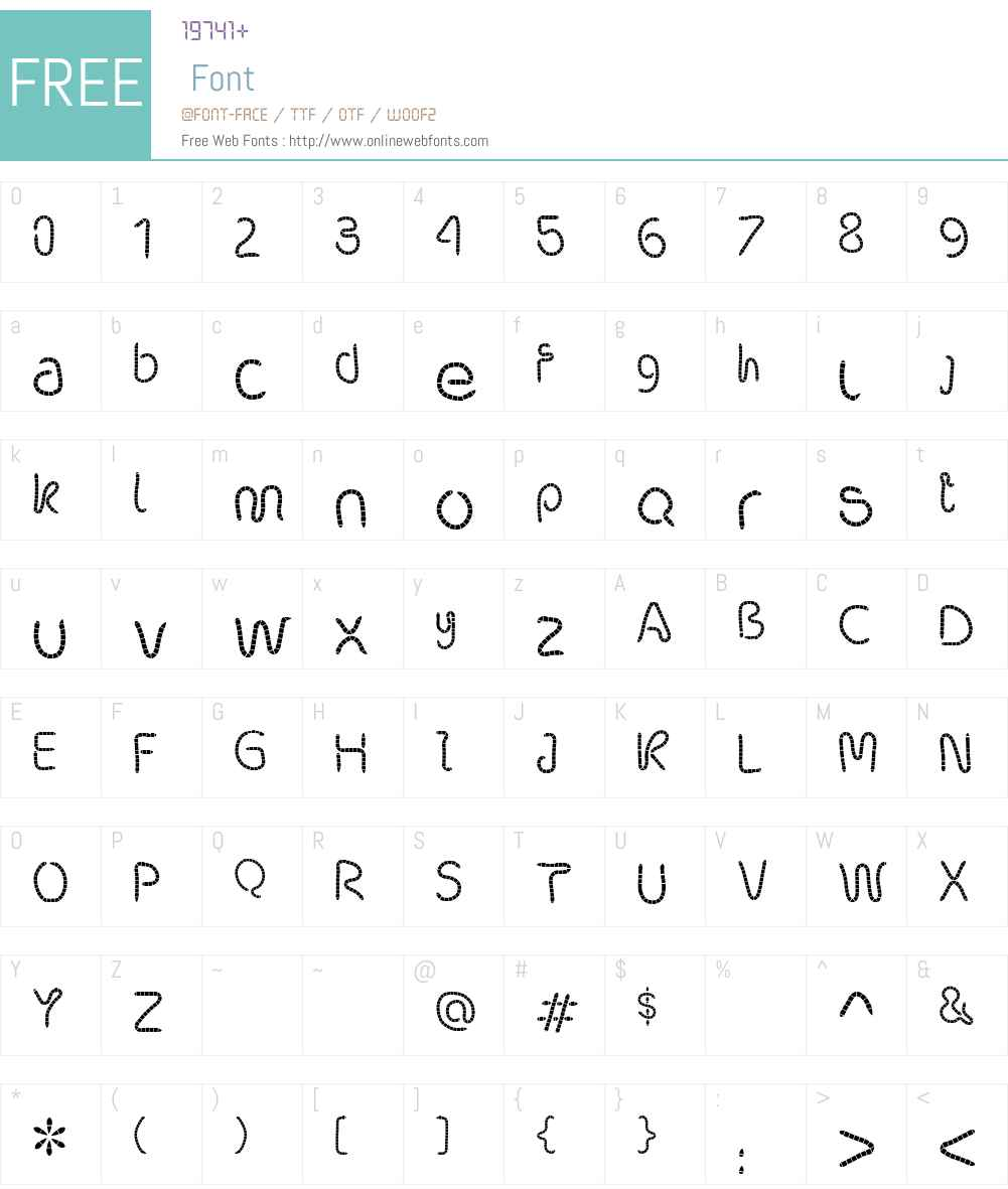 robalek Font Screenshots