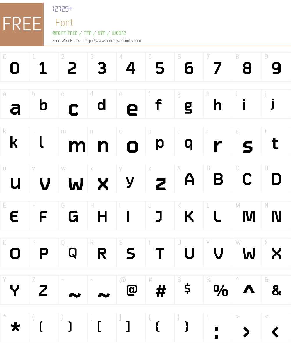 Oyko Font Screenshots