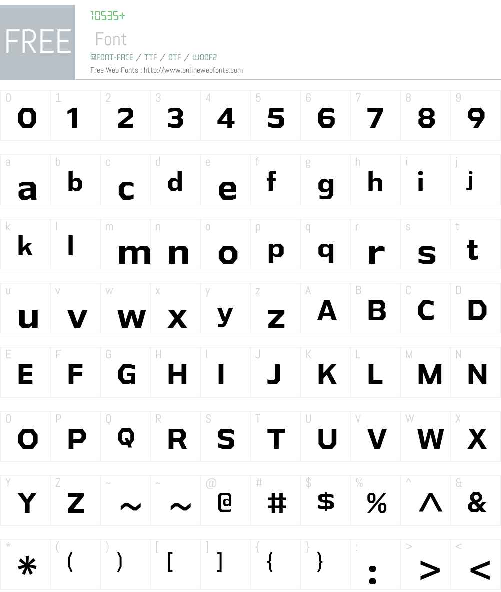 Athabasca Font Screenshots