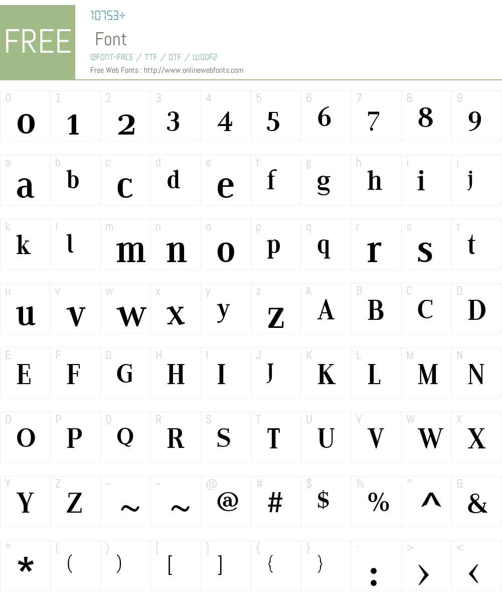 EditoW01-ERegular Font Screenshots