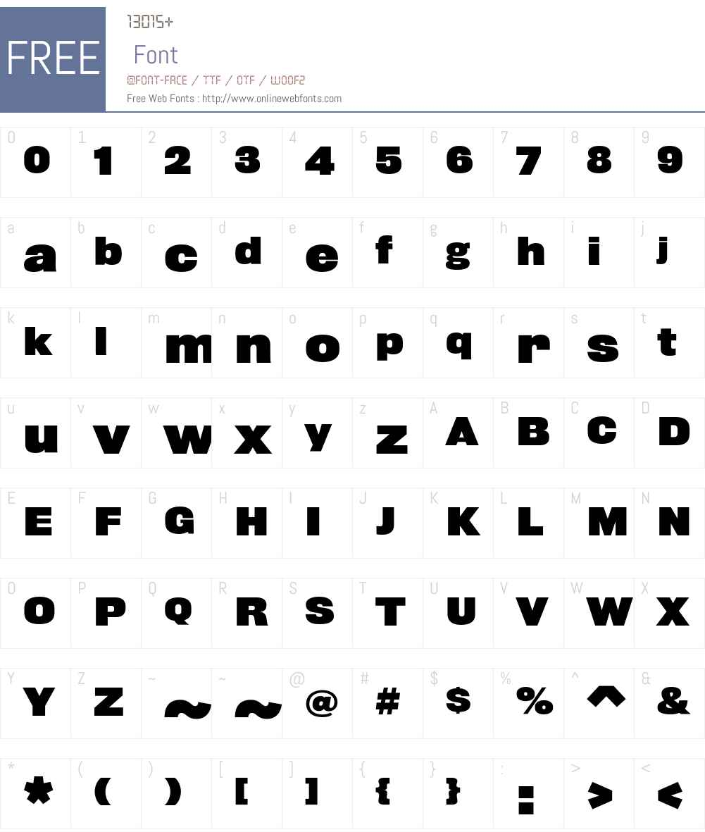 Rhode Font Screenshots