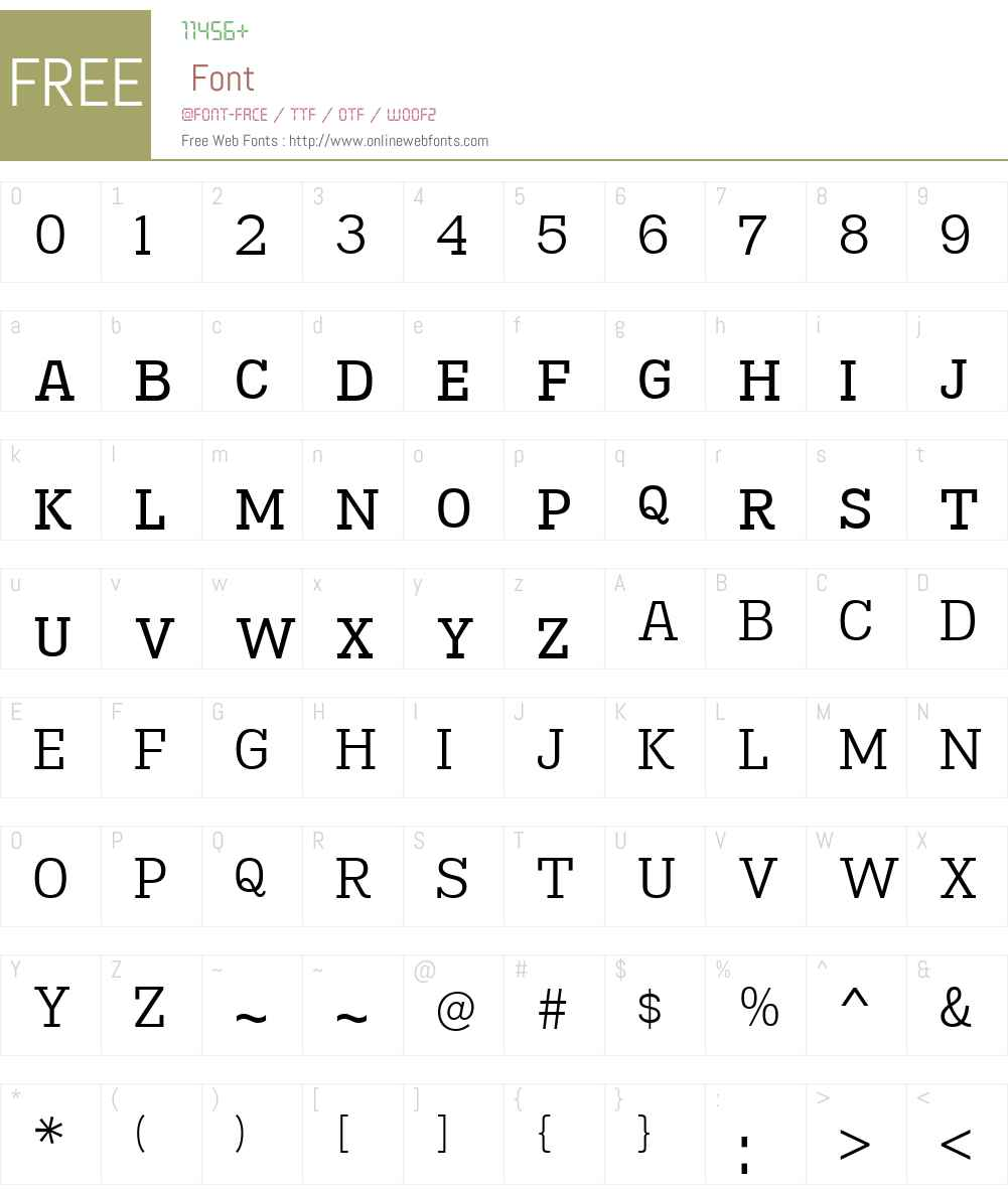 MadawaskaW00-SmallcapsBook Font Screenshots