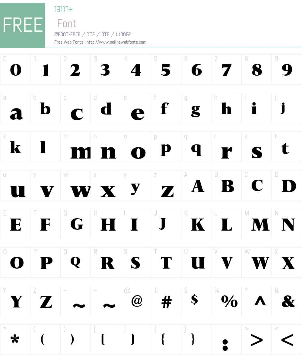 Perpetua BQ Font Screenshots