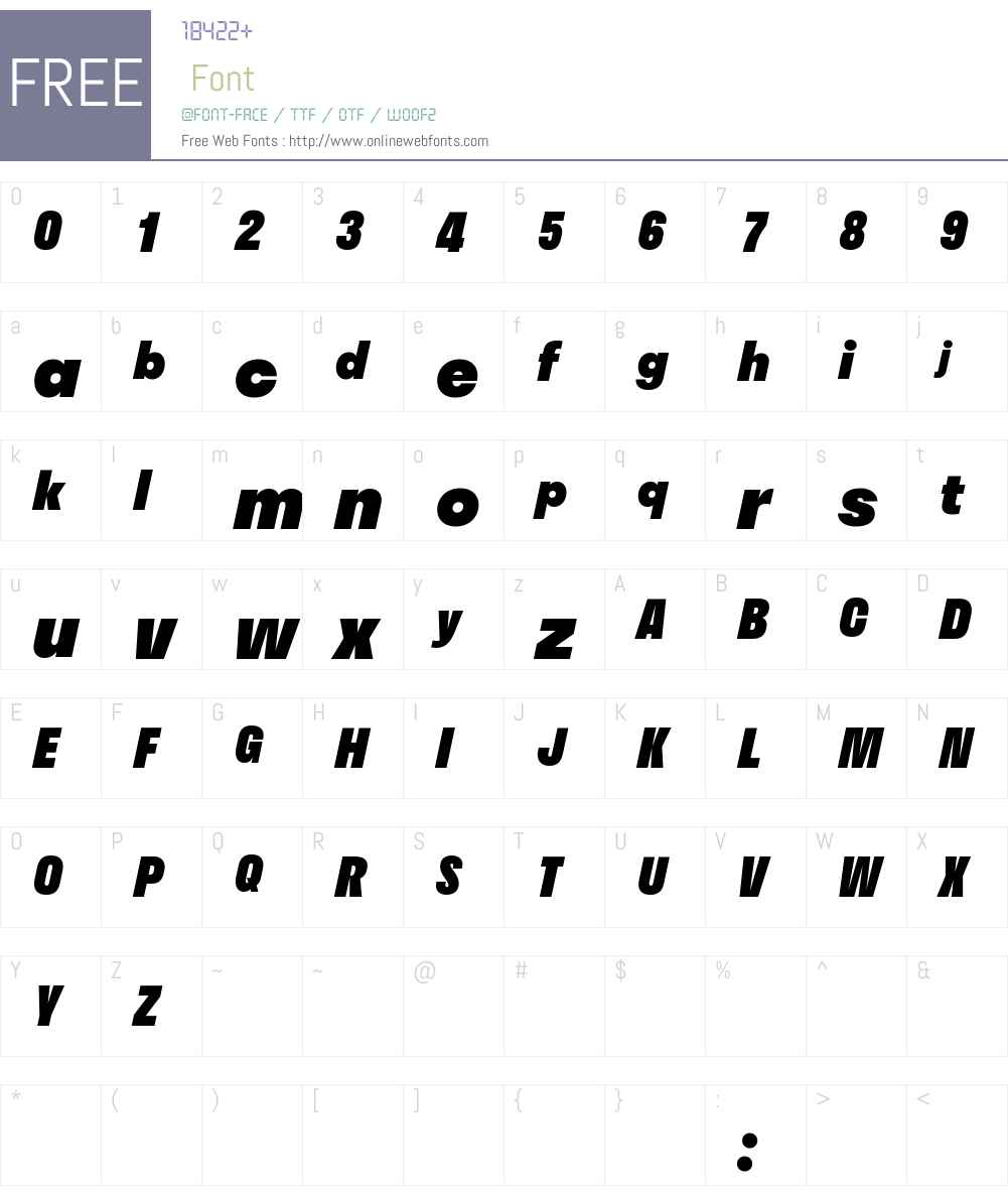 Stratos LC Web Black Font Screenshots