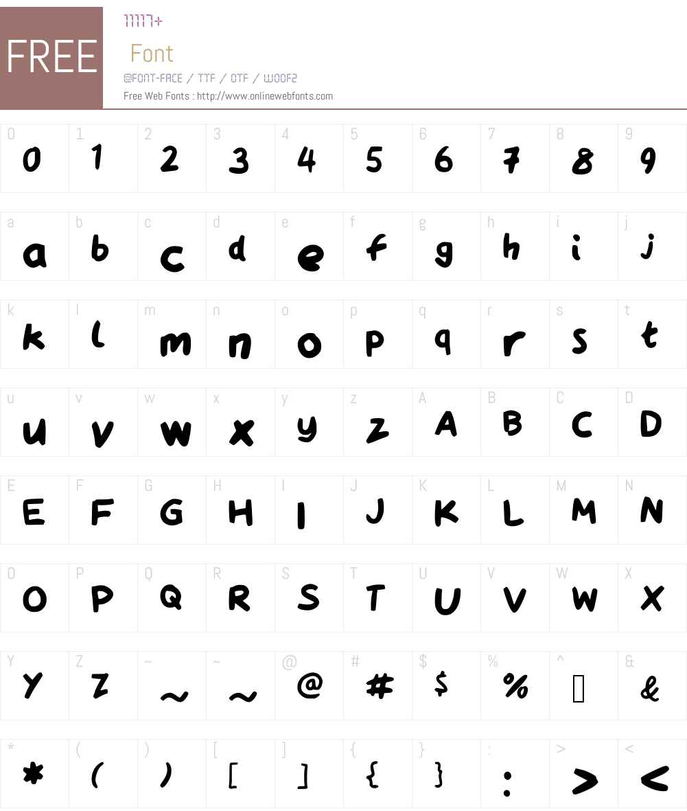 QAReports Font Screenshots